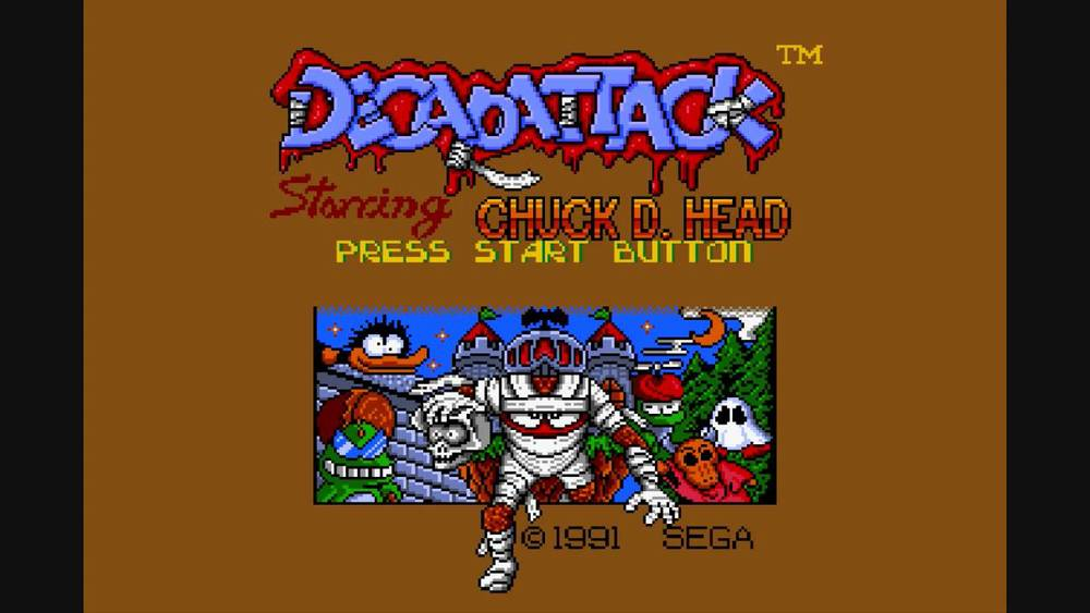 img - Decap Attack (Vic Tokai/Sega, 1991)