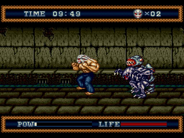 s3 screen2 - Splatterhouse 2 & 3 (Namco, 1992/1993)