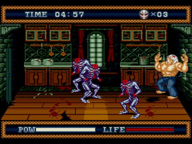 s3 screen3 - Splatterhouse 2 & 3 (Namco, 1992/1993)