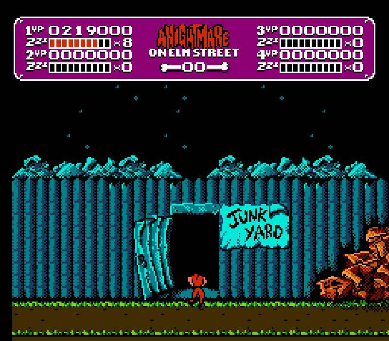 junkyard - A Nightmare on Elm Street (Rare/LJN, 1990)