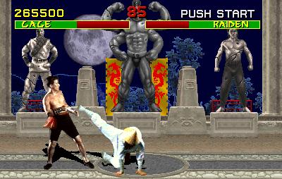 screen1 arcade - Mortal Kombat (1992, Midway)