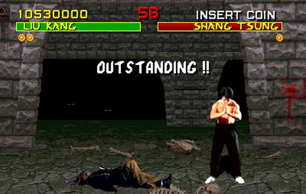 outstanding - Mortal Kombat (1992, Midway)