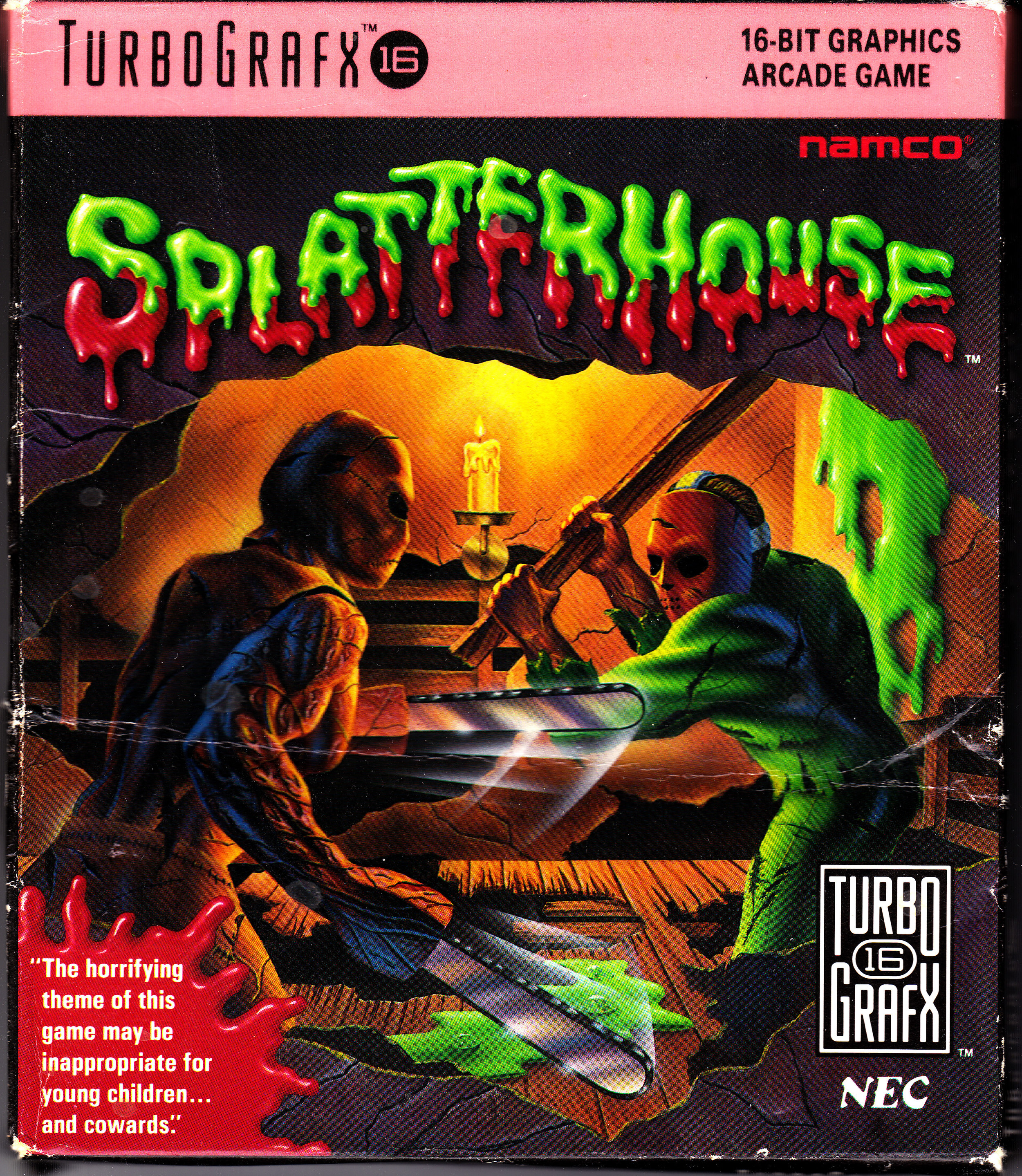 splatterhousetg16cover - Retro Gallery Archive (Full Size)