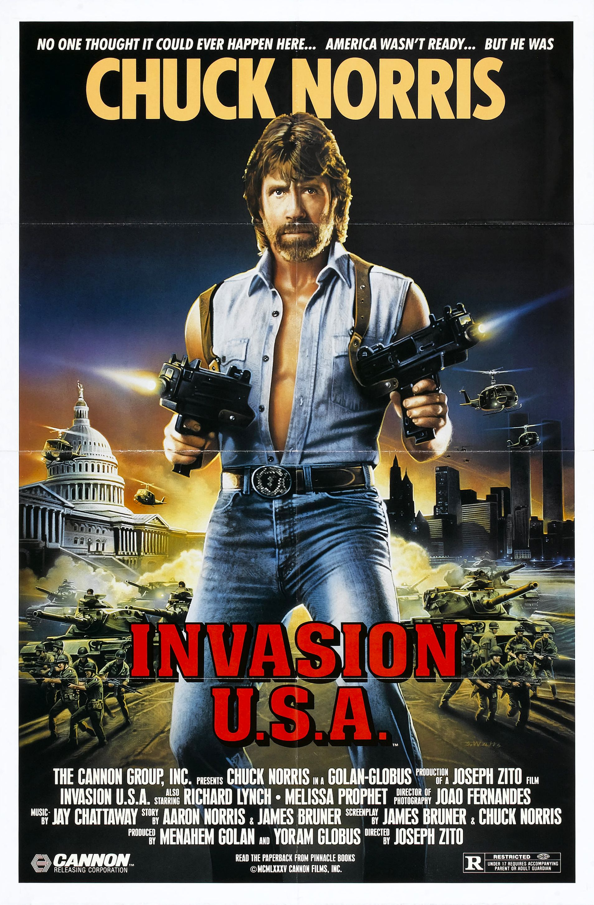 invasion usa poster 01 - Retro Gallery Archive (Full Size)