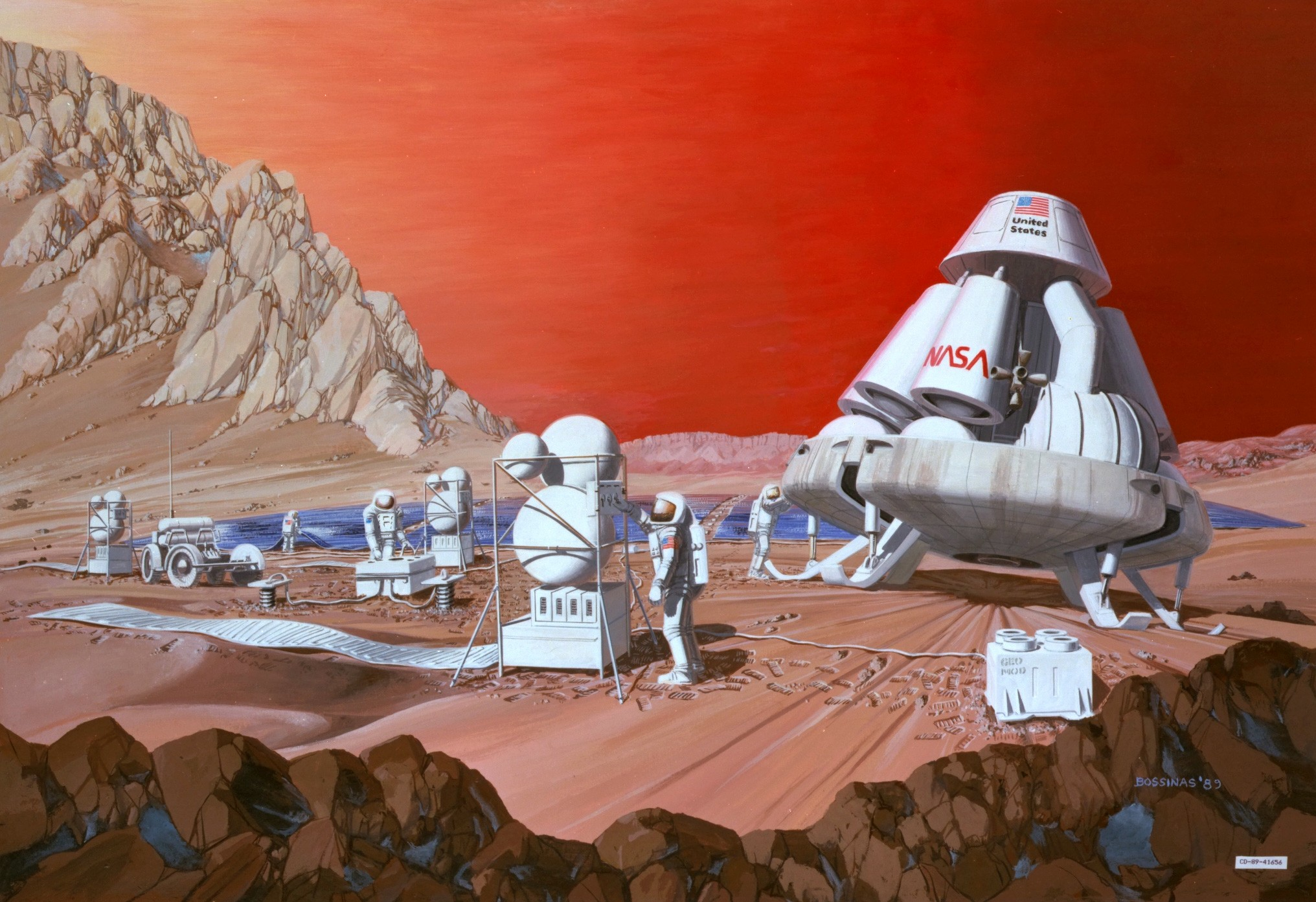 Mars mission - Retro Gallery Archive (Full Size)