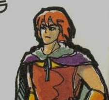Simon Belmont, our hero. (from the Japanese manual)