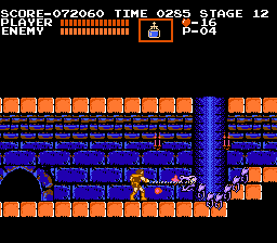screen dragon - Castlevania (Konami, 1986)