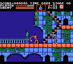 screen skel - Castlevania (Konami, 1986)