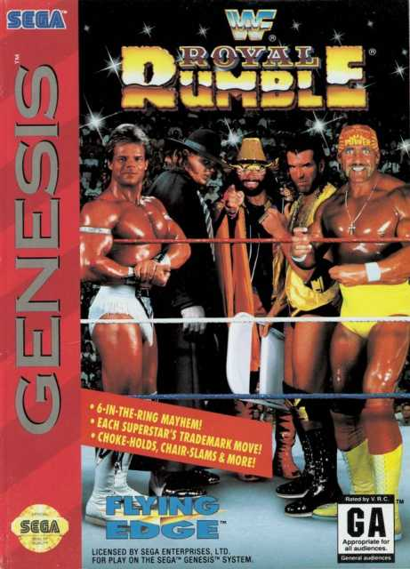 Box art for the Genesis version.