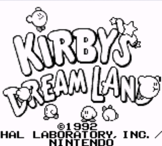 img - Kirby's Dream Land (1992, HAL/Nintendo)