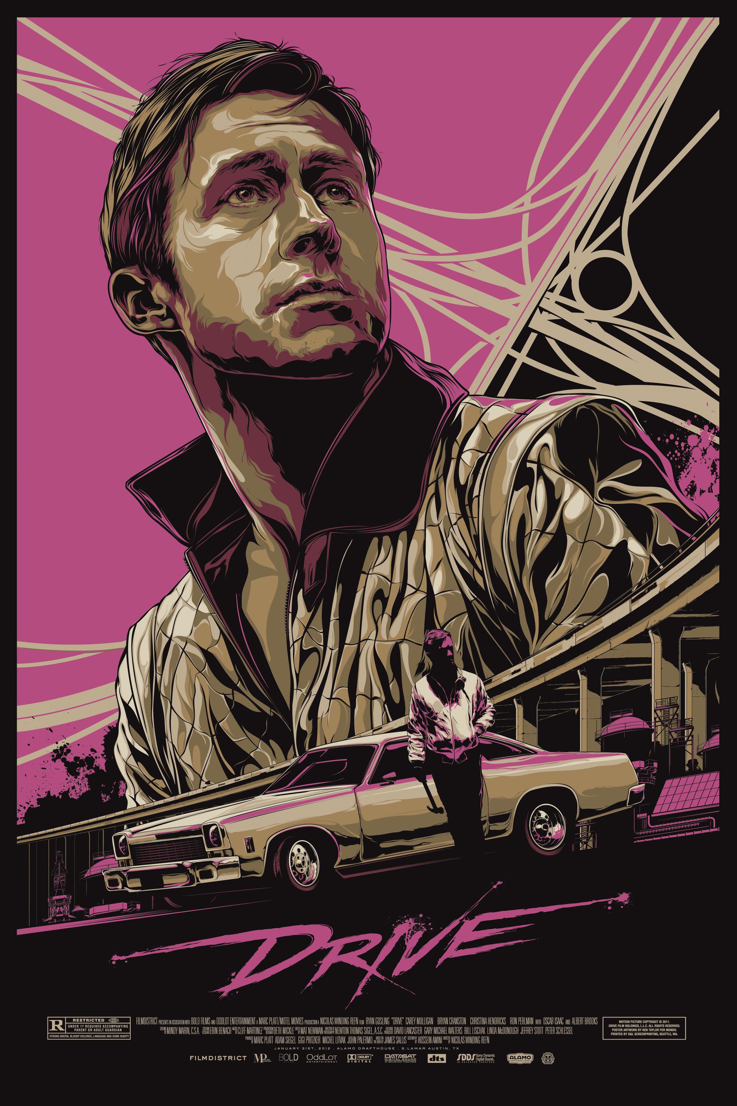 Drive Mondo Poster - Retro Gallery Archive (Full Size)