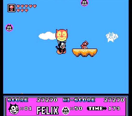 balloon - Felix the Cat (Hudson Soft, 1992)