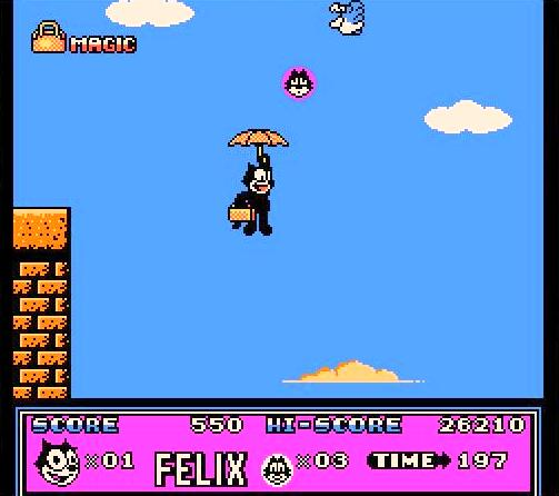 umbrella - Felix the Cat (Hudson Soft, 1992)