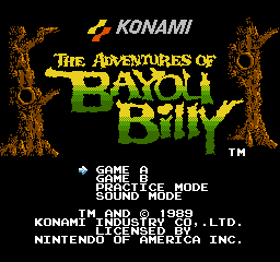 img - Adventures of Bayou Billy (1988, Konami)