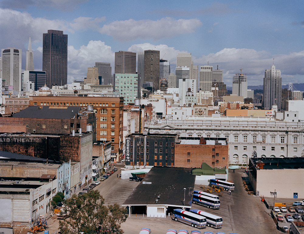 Photo By Janet Delaney- Greyhound Bus Depot, 7th St. between Mission and Market Streets, 1982