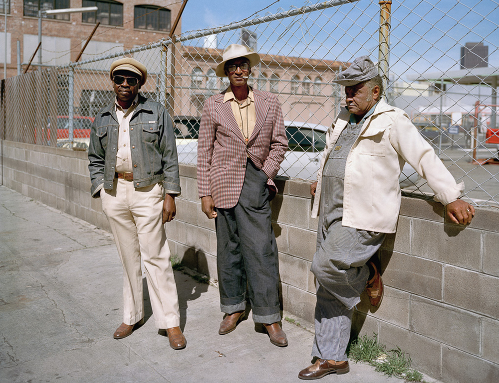 Photo By Janet Delaney- Longtime neighbors, Langton at Folsom Street, 1981