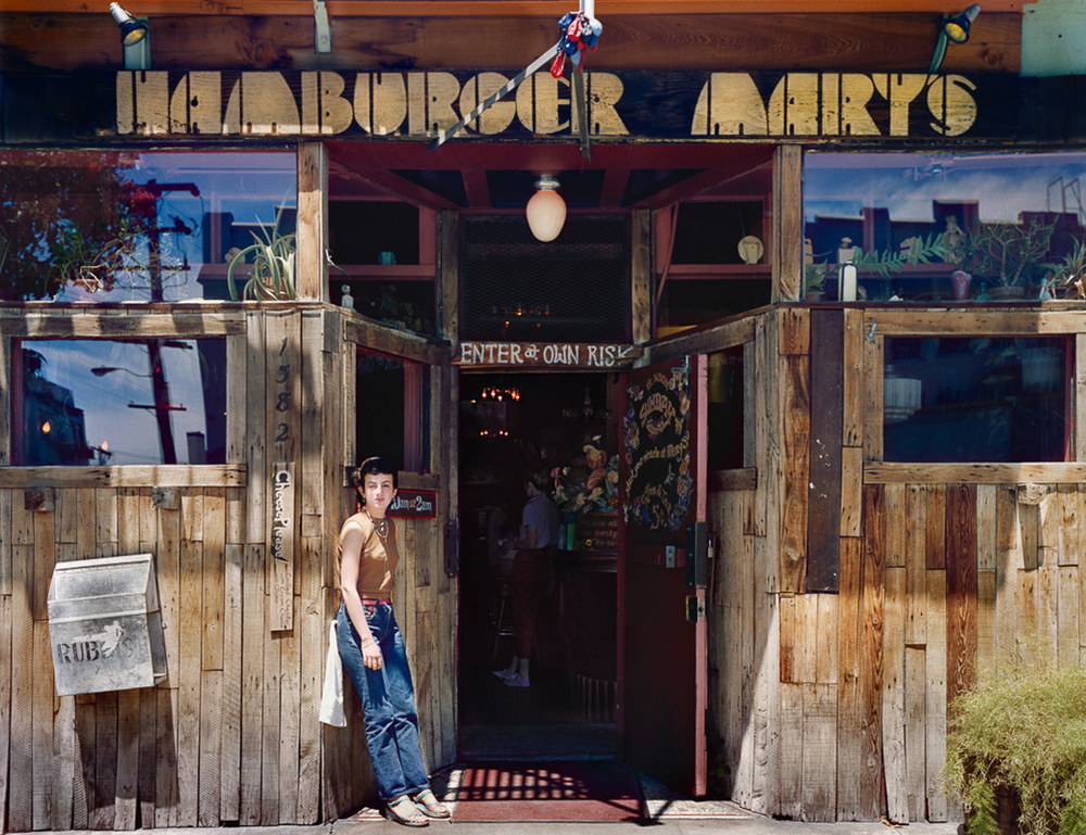 Photo By Janet Delaney- Hamburger Mary's, 1582 Folsom at 12th Street, 1980