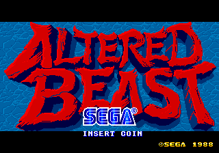 img - Altered Beast (Sega, 1988)