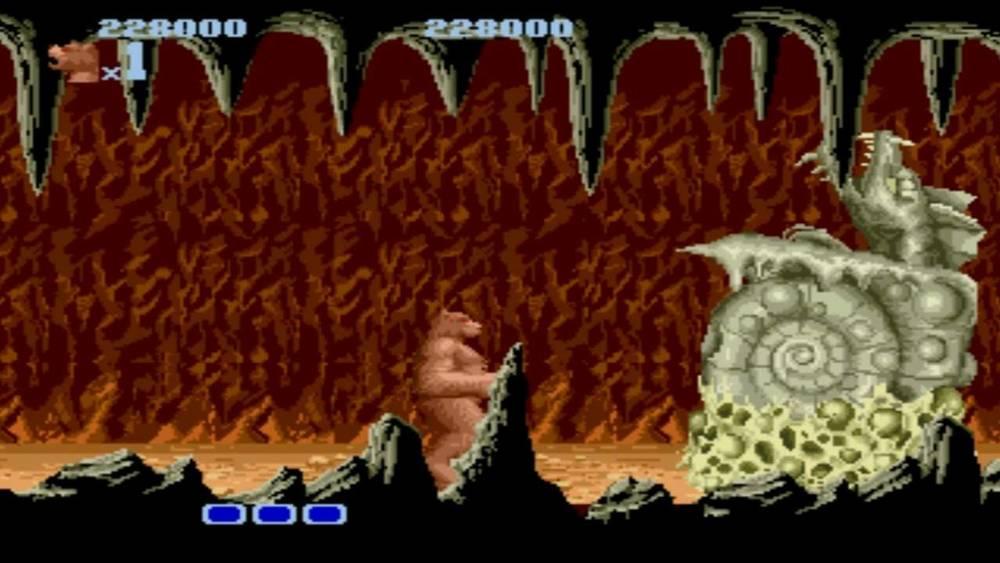 bearfight - Altered Beast (Sega, 1988)