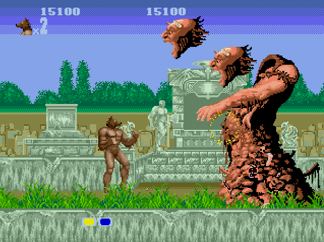 headsoff - Altered Beast (Sega, 1988)