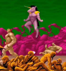 uniman - Altered Beast (Sega, 1988)