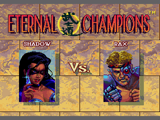 eternal champions 04 - Eternal Champions (Sega, 1993)