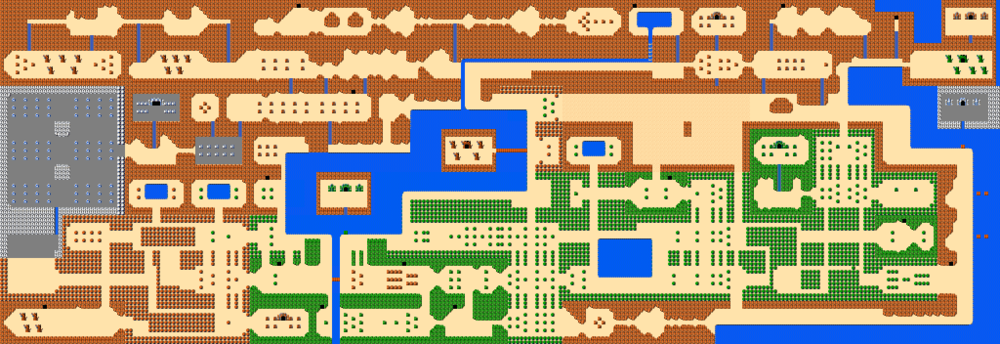 The overworld. Well, at least, the obvious parts. Don't be deceived... this is a weird-ass place.