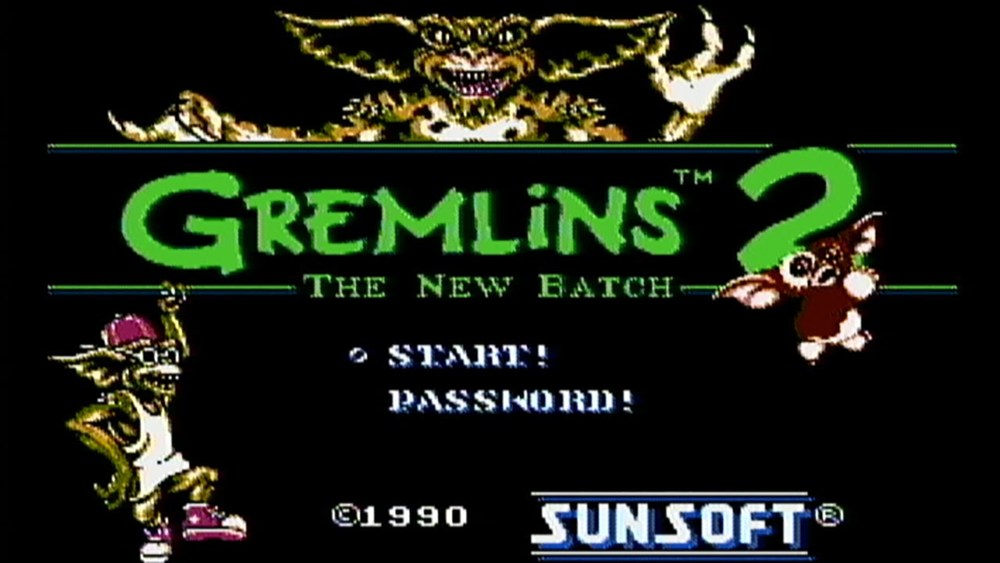 img - Gremlins 2: The New Batch (Sunsoft, 1990)