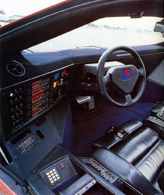 Vector W2 Interior