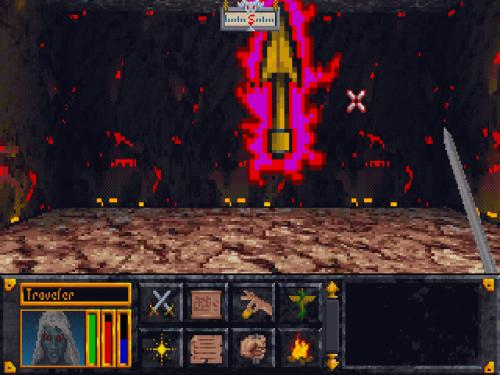 12542 500 - The Elder Scrolls: Arena (Bethesda Softworks, 1994)