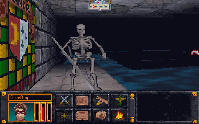 skeleton - The Elder Scrolls: Arena (Bethesda Softworks, 1994)