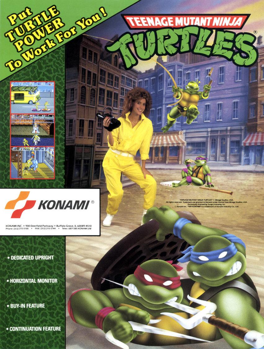 ad1 - TMNT Arcade Game (Konami, 1989)