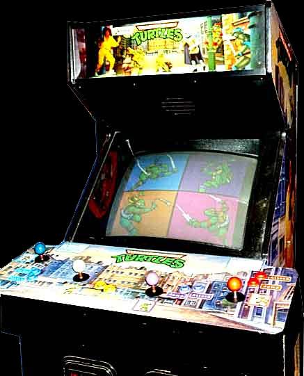 tmntu - TMNT Arcade Game (Konami, 1989)