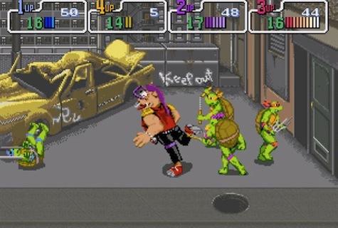 Retro+Thurs TMNT Arcade+Game - TMNT Arcade Game (Konami, 1989)
