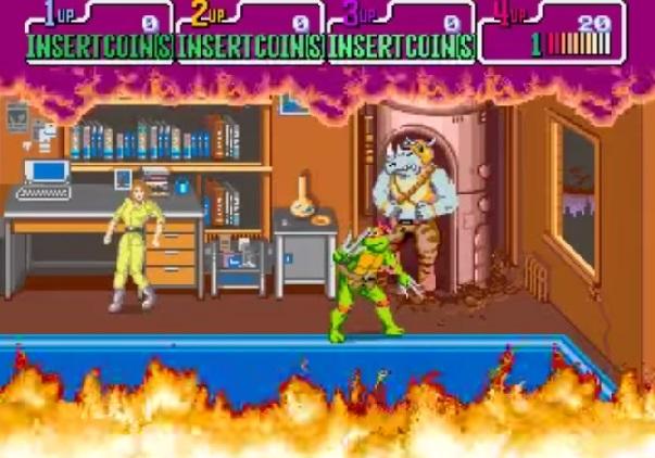 tmnt1 - TMNT Arcade Game (Konami, 1989)