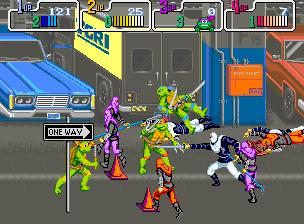 tmnt 8 - TMNT Arcade Game (Konami, 1989)