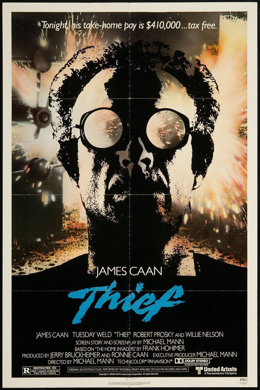 "James Caan"" Thief Movie Poster (1981)"