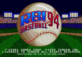 img - RBI Baseball 94 (Namco/Atari)