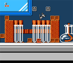 225265 chip   dales rescue rangers nes screenshot2 - Chip n Dale: Rescue Rangers (Capcom, 1990)