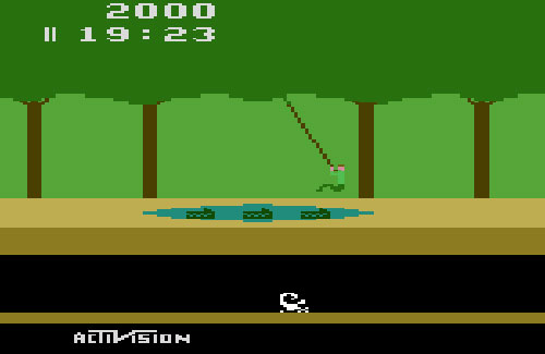When Activision made games like Pitfall, Atari pretty much had to bend over and take it. Activision rubbed Atari's face in it to the tune of 4 million copies worldwide.