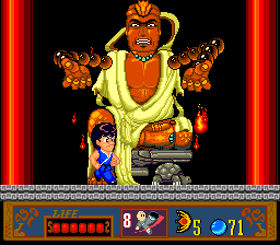 109282 jackie chan s action kung fu turbografx 16 screenshot finally - Jackie Chan's Action Kung Fu (Hudson Soft/NowPro, 1990)