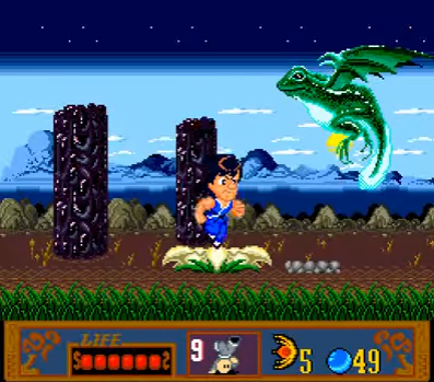 frog - Jackie Chan's Action Kung Fu (Hudson Soft/NowPro, 1990)