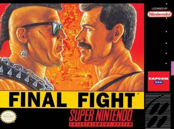 Final Fight Box Art