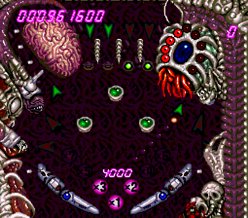 alien crush 1 - PC Engine/TurboGrafx 16: Greatness & Weirdness in the Fourth Generation