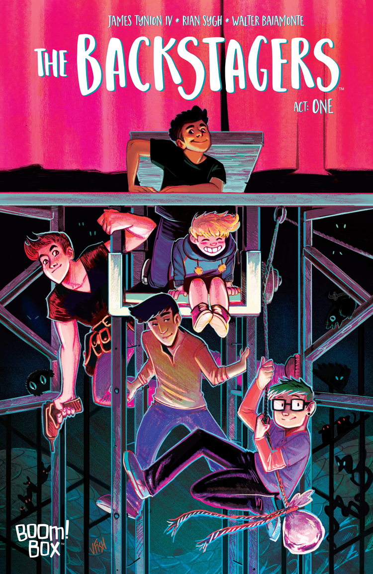 img - Review - Backstagers #1