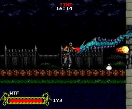 ninja fish - Cadash (Taito, 1989)