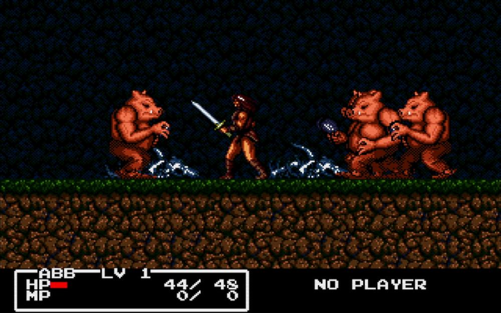 pigs - Cadash (Taito, 1989)
