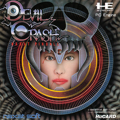 COVER Devil Crash - Alien Crush/Devil's Crush (1988/1990, Naxat Soft)