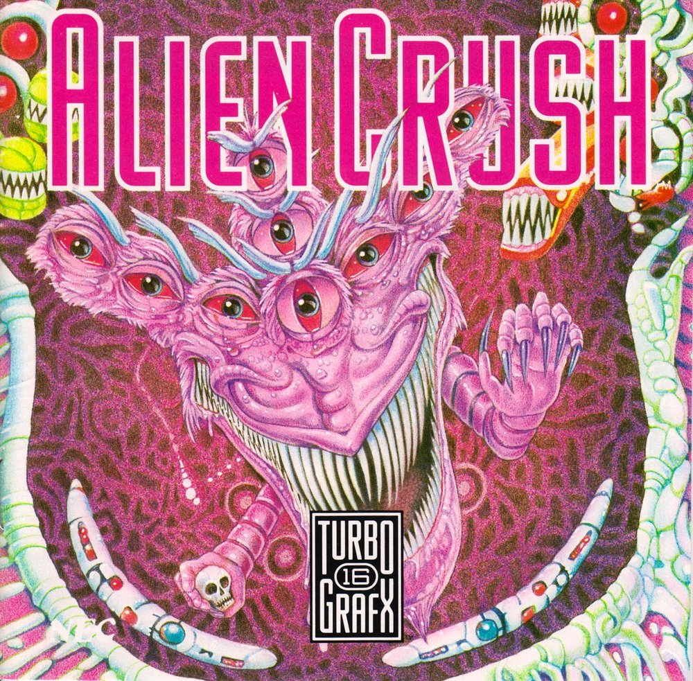 Alien CrushUS Front - Alien Crush/Devil's Crush (1988/1990, Naxat Soft)