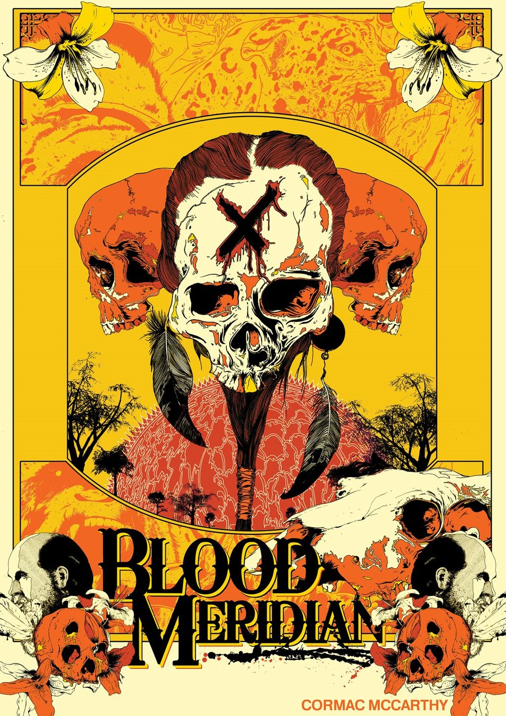 img - Blood Meridian (or the Evening Redness in the West) by Cormac McCarthy (1985)